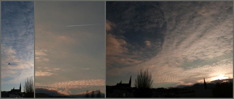 Sunset sur Clermont