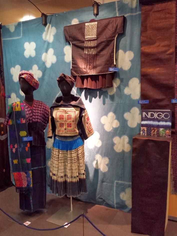 Le musée Bargoin et ses arts textiles était présent