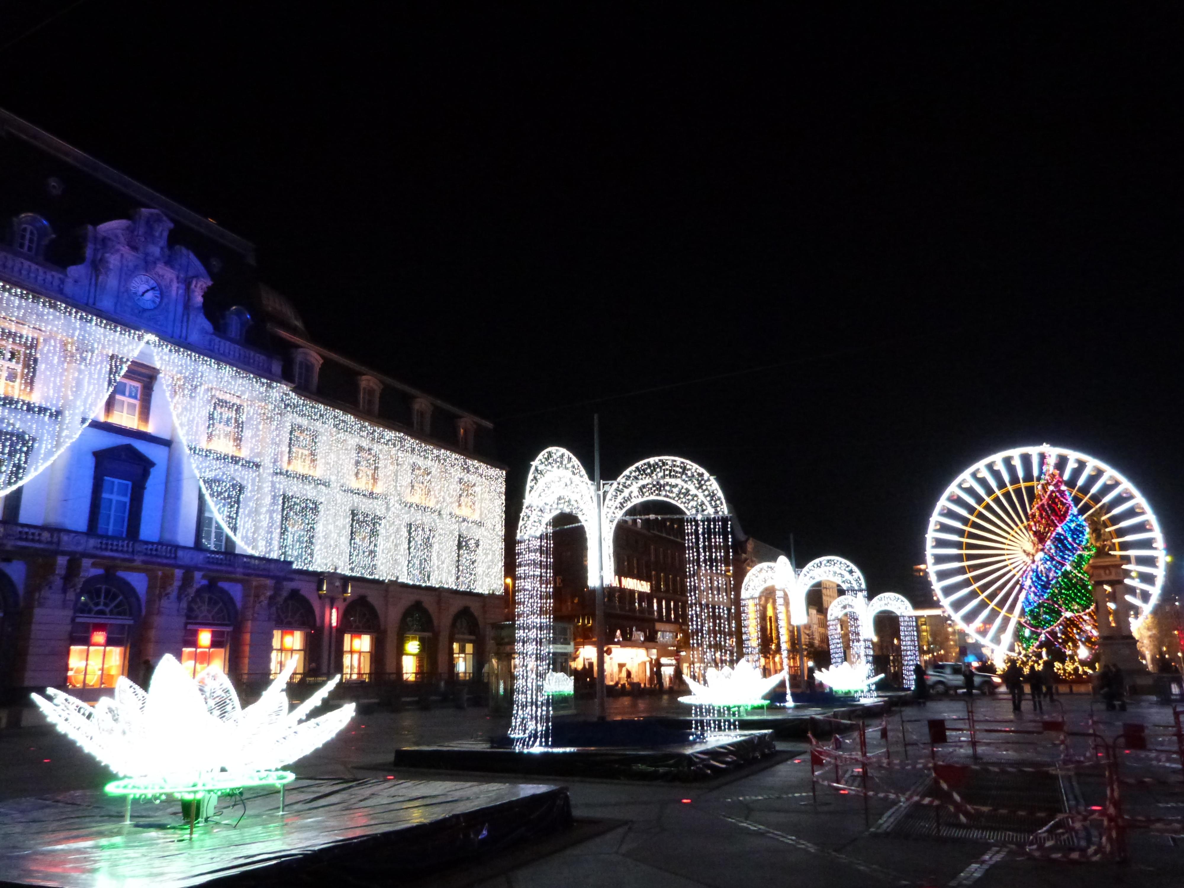 Illuminations de Noël à Clermont-Ferrand