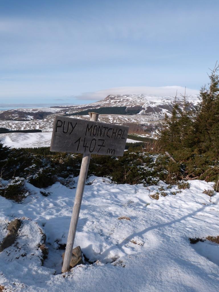 Puy de Montchal, on y est ! Check !
