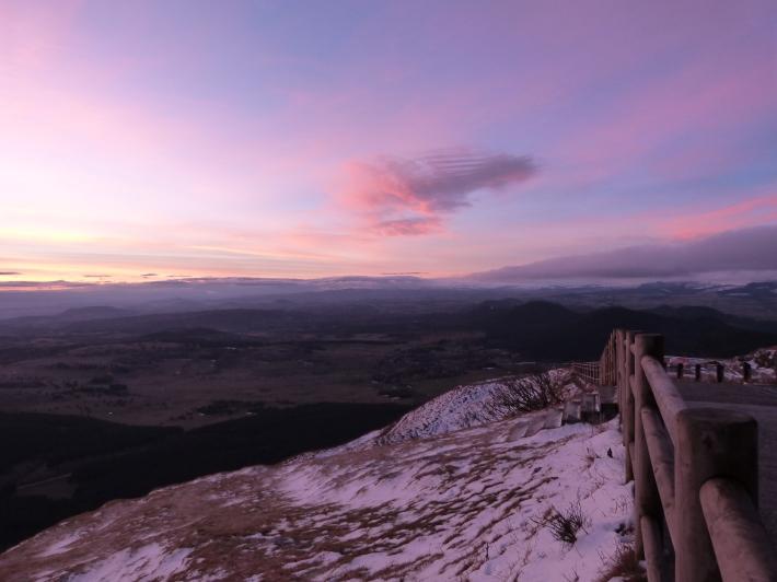 8h20 - l'horizon s'éclaircit, il n'est plus très loin...