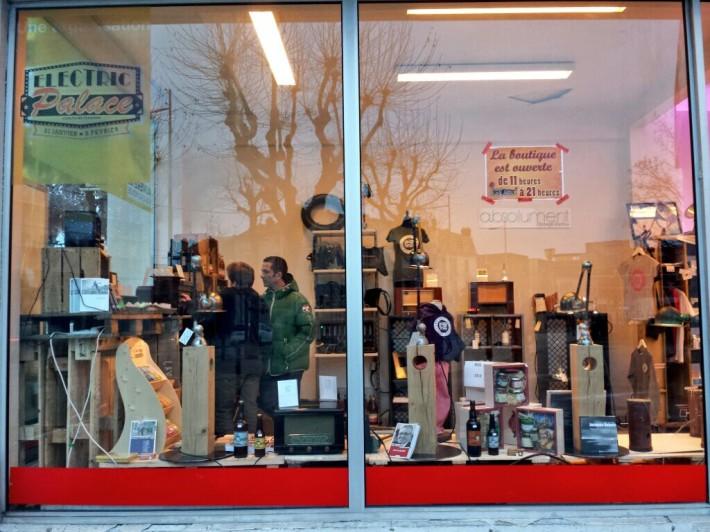 La boutique éphémère Auvergne Nouveau Monde