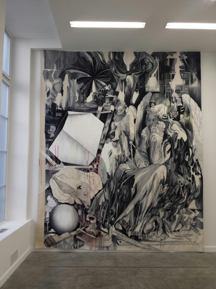 La fameuse tapisserie d'Aubusson,  Melancholia 1