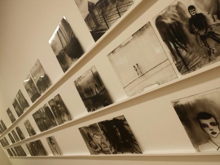 Film stills, Plexiglas du film L'Architecte