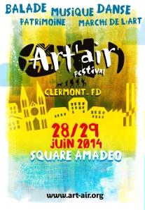 AFFICHE ART'AIR SESSION URBAINE V5