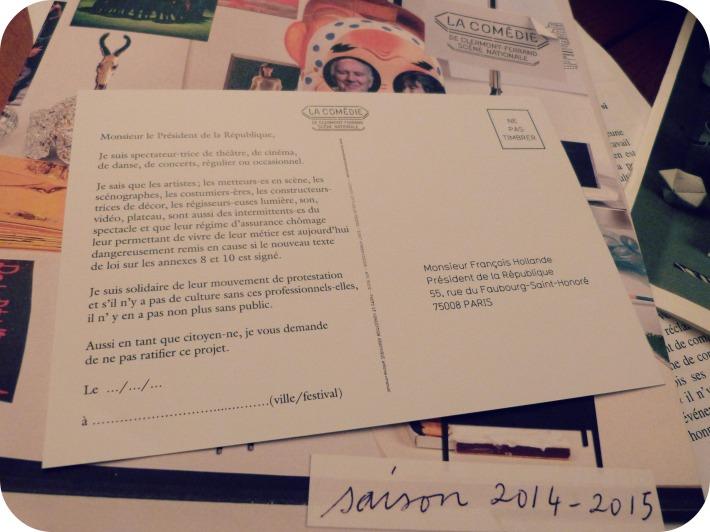 Petit mot pour François Hollande à envoyer sans timbre...