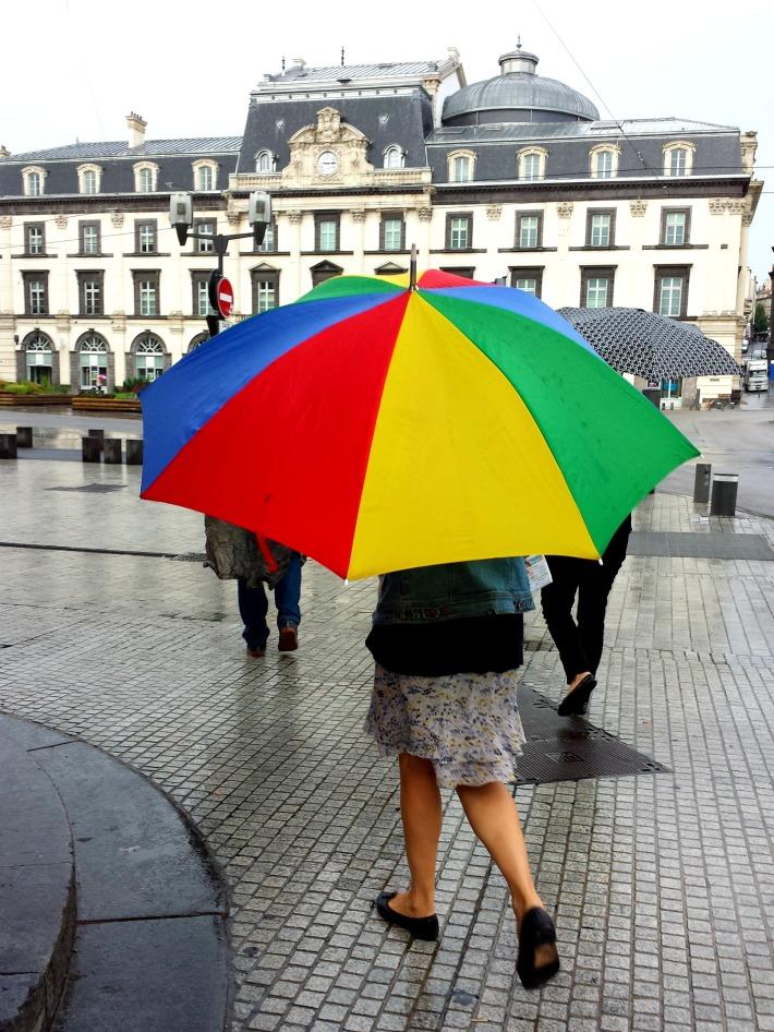 Le parapluie de l'opéra