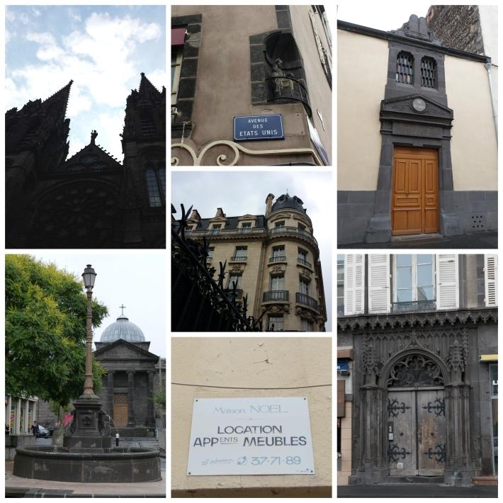 """Extraits de patrimoine clermontois (le truc en bas au milieu est signé """"Borie"""" ^^)"""