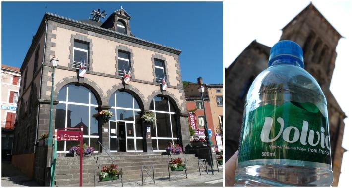 L'office de tourisme hébergé dans un joli bâtiment, et qui offre une petite bouteille de Volvic lors des visites guidées : accueil au top !