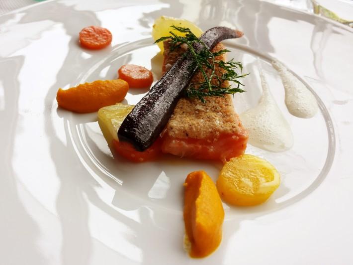 Saumon-carottes