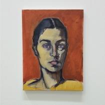 Le seul autoportrait exposé (il n'en existe que 2)